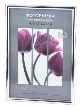 Фоторамки для фотографий Светосила Радуга 21x30 Серебро, со стеклом