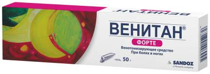 Венитан форте гель наружный туба 50 г уп. №1