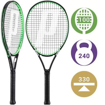 Ракетка для большого тенниса Prince Tour 100P 26 Junior зеленая/черная