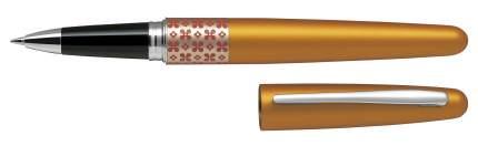 Ручка роллер PILOT MR Retro Pop оранжево-золотой металлик 0,7мм