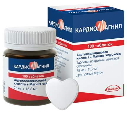 Кардиомагнил таблетки, покрытые пленочной оболочкой 75 мг 30 шт.