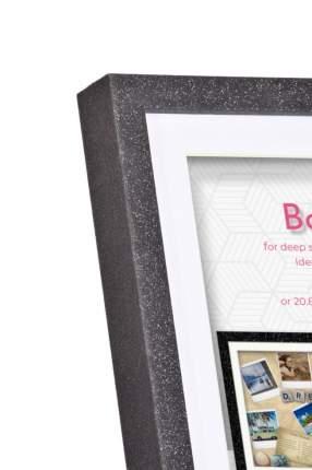 Фоторамка Innova ''Glitter Shadow Box'' 25x25 см (окно 21x21см)