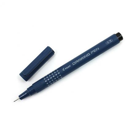 Линер Pilot Drawing Pen 03 черный 0,8мм