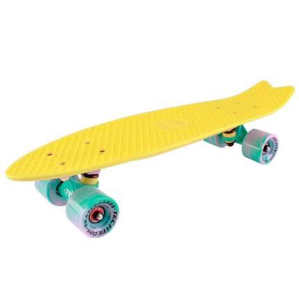 "Скейтборд Tech Team Fishboard 23"" (желтый)"
