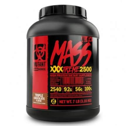 Гейнер Mutant Mass XXXtreme 2500, 3200 г, triple chocolate