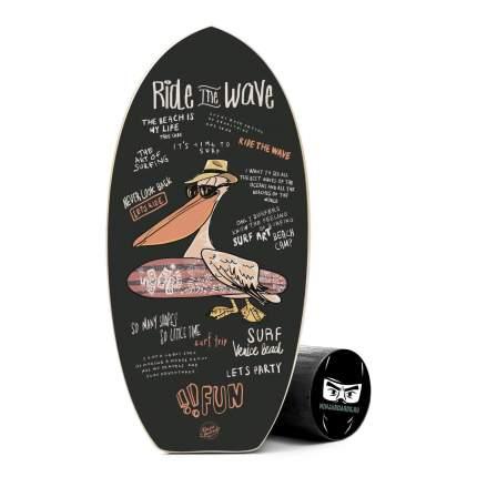 баланс борд ninjaboards RIDE#32 760мм, ролик 160мм