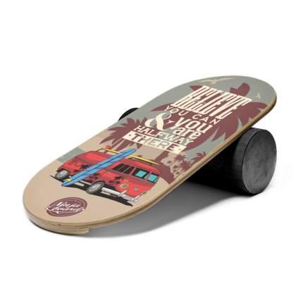 баланс борд ninjaboards  SURFER VAN#27 760мм, ролик 160мм