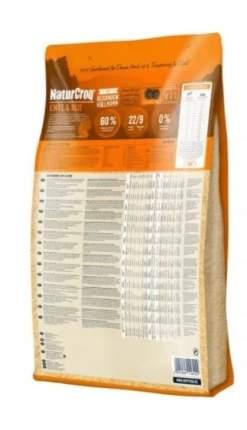 Сухой корм для собак Happy Dog, для улучшения состояния кожи и шерсти, утка, рис, 12кг