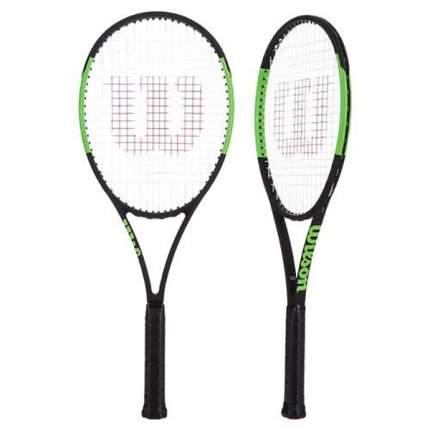 Ракетка для большого тенниса Wilson Blade 101L DD43 черная/зеленая