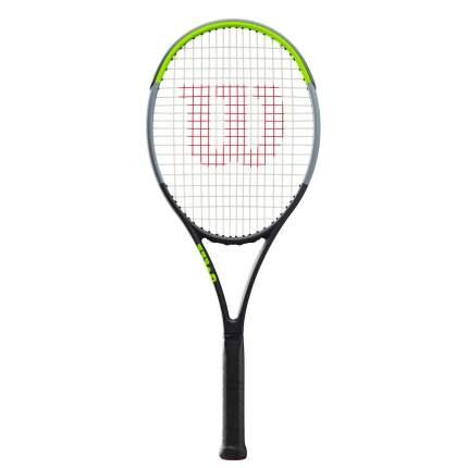 Ракетка для большого тенниса Wilson Blade 104 Version 7.0 черная/зеленая