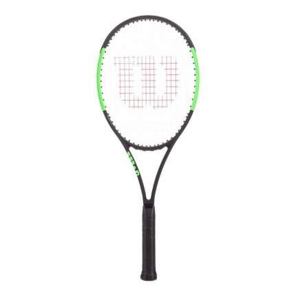 Ракетка для большого тенниса Wilson Blade 98 (18x20) CV черная/зеленая