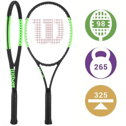 Теннисная ракетка Wilson Blade 98UL легкая, мощная ракетка для юниоров и любителей.