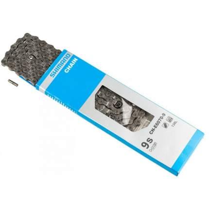 Цепь Shimano E6070 для 9ск сзади/1ск. спереди 118 зв для электровел-в ICNE60709118I
