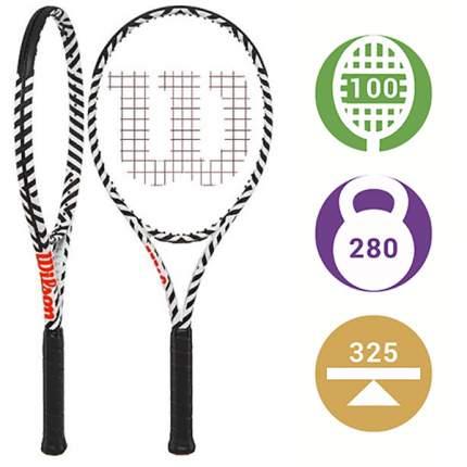Теннисная ракетка Wilson Burn 100 LS BOLD Новинка 2019-го года! (2)