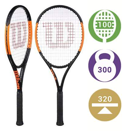 Теннисная ракетка Wilson Burn 100 S 2019 (Вес: 300, Голова: 100) (2)