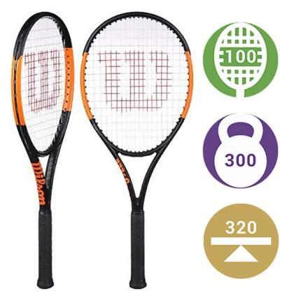 Теннисная ракетка Wilson Burn 100 S 2019 (Вес: 300, Голова: 100) (3)