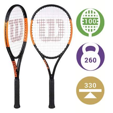 Теннисная ракетка Wilson Burn 100 ULS 2019 (Вес: 260, Голова: 100) (1)