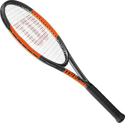 Ракетка для большого тенниса Wilson Burn 95 CV Countervail черная/оранжевая