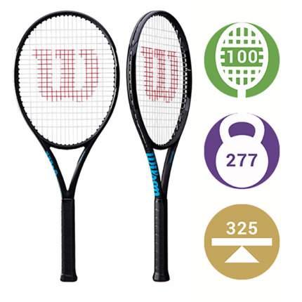 Теннисная ракетка Wilson Ultra 100L Black Edition (2)
