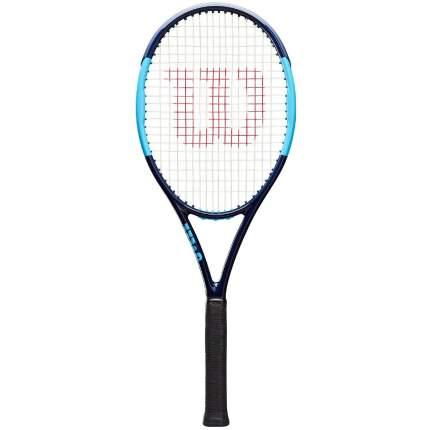 Ракетка для большого тенниса Wilson Ultra Tour 95 CV Kei Nishikori 3 черная/синяя