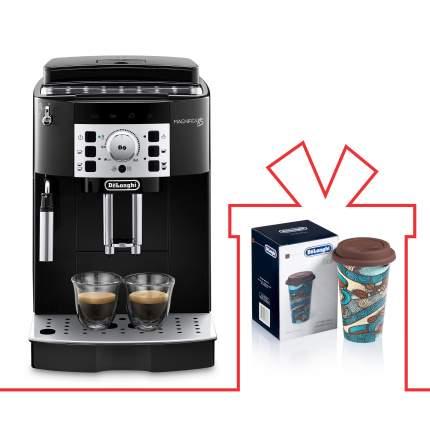 Комплект кофемашина DeLonghi EСAM 22.110.B + термокружка DeLonghi DLSC055(THE TASTER)