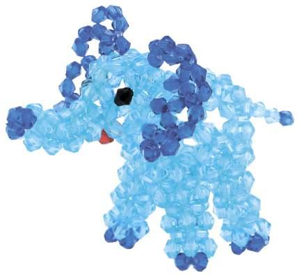 Брелоки Голубой слоненок LORI Бус-036