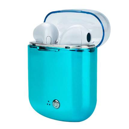 Беспроводные наушники i7s-tws Turquoise