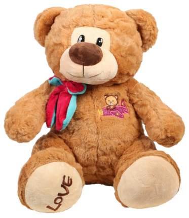Мягкая игрушка «Медведь с бантом и вышивкой № 2, 30 см Sima-Land