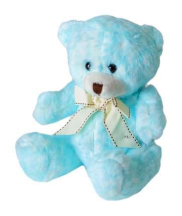 """Мягкая игрушка """"Медведь"""" с бантом, цвет голубой Sima-Land"""