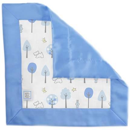 Муслиновый комфортер SwaddleDesigns Baby Lovie Blue Forest