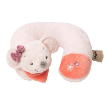 Подушка-подголовник Nattou Neck pillow Adele & Valentine Мышка