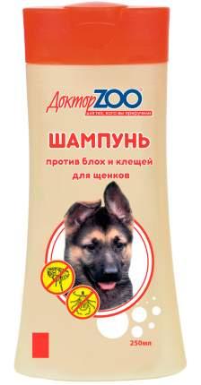 Шампунь для щенков против блох и клещей Доктор ZOO, 250 мл