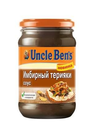 Терияки имбирный соус для приготовления блюд Uncle Ben's 210 г