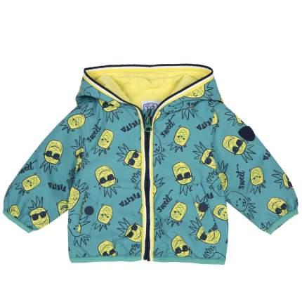 Куртка Chicco для мальчиков зеленая, с карманами на кнопке, размер 92