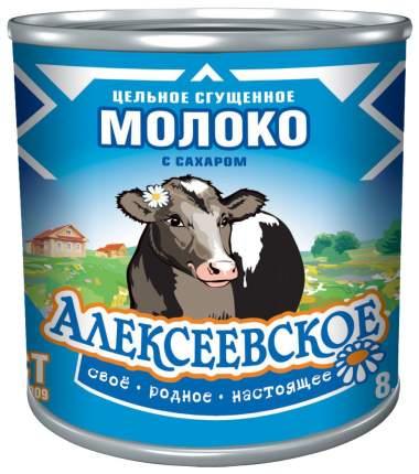 Молоко сгущенное Алексеевское гост 8.5% ж/б 360 г