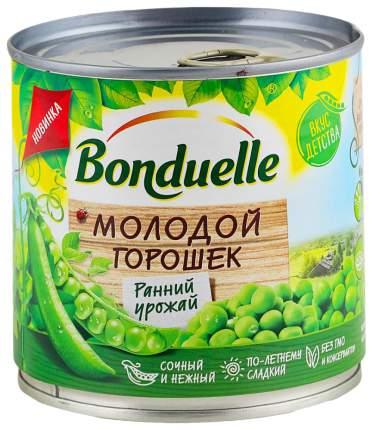 Горошек зеленый Bonduelle молодой ранний урожай 200 г