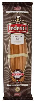 Макароны Federici спагетти цельнозерновые №3 400 г