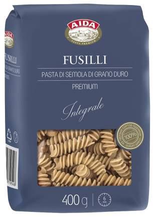 Макароны Aida Fusilli спираль цельнозерновые 400 г