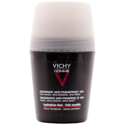 Дезодорант-антиперспирант VICHY Homme 48H Peau Sensible для чувствительной кожи 50 мл