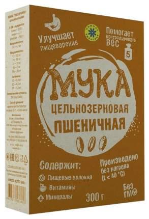 Мука Компас Здоровья цельнозерновая пшеничная 300 г