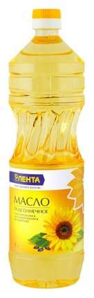 Масло подсолнечное Лента рафинированное дезодорированное высший сорт 1000 мл