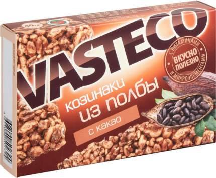Батончики Вастэко из полбы с какао 40 г