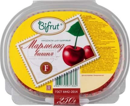Мармелад желейный Bifrut на фруктозе со вкусом вишня 250 г