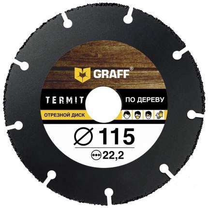 Пильный диск по дереву GRAFF Termit 115 мм для УШМ (болгарки)