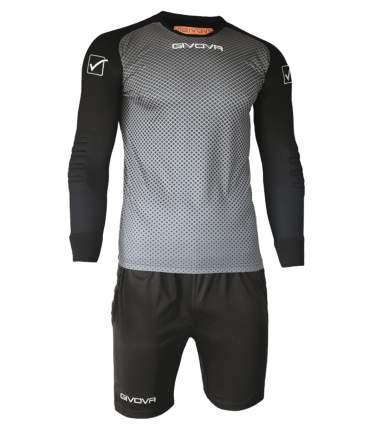 Комплект вратарской формы Givova Kit Manchester Portiere, серый, XL INT