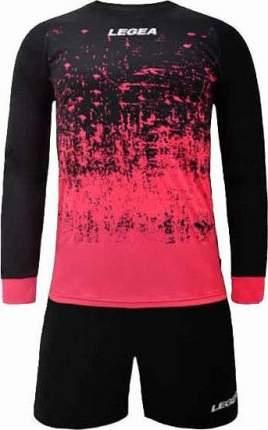 Комплект вратарской формы Legea Mestalla, черный/розовый, L INT