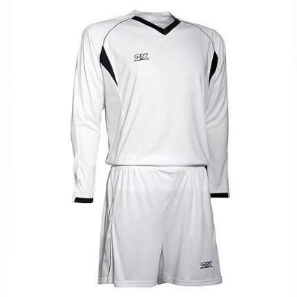 Форма футбольная 2K Agio Pro Line LS, white/white/black, XXL