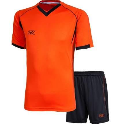 Форма футбольная 2K Agio Pro Line, neonorange/black, XXL