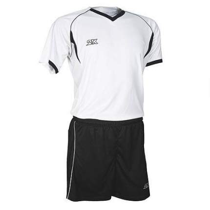 Форма футбольная 2K Agio Pro Line, white/black, XXL