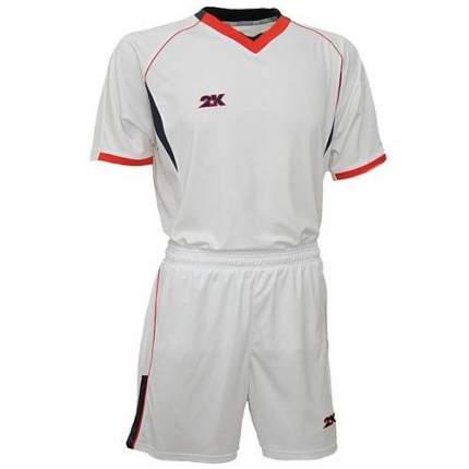 Форма футбольная 2K Agio Pro Line, white/white/navy/red, XXL